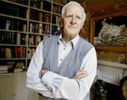 Spionage ist seine Passion. Autor John Le Carré in seinem Haus in London. (Bild: Keystone)