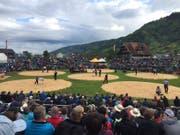 Das Schwyzer Kantonale in Arth hat begonnen. (Bild: Claudio Zanini (Schwyz, 14. Mai 2017))