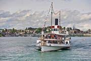 Auch dank des Vereins Dampferfreunde Vierwaldstättersee können Touristen und Ausflügler mit Dampfschiffen besagtes Gewässer befahren. (Bild Pius Amrein)
