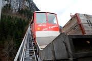 Die alte Stoosbahn. (Bild: Erhard Gick/Neue SZ)