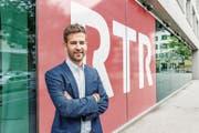 Flavio Bundi, neuer Chefredaktor von RTR: «Urteilt über meine Arbeit – nicht über mein Alter.» (Bild: Yanik Buerkli)