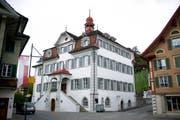 Rathaus in Sarnen (Archivbild). (Bild: Corinne Glanzmann)