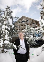 Samih Sawiris, fotografiert vor dem «Chedi» in Andermatt. (Archivbild Manuela Jans-Koch)