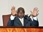 Der ugandische Präsident Yoweri Museveni (Bild: Keystone)