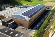 Erhält den Solarpeis 2012: Renggli Holzbau in Schötz. (Bild: PD)
