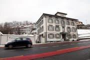 Das ehemalige Gasthaus Krone in Sattel. (Bild Laura Vercellone/Neue SZ)