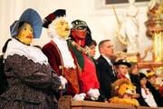 Narrenmesse in Schwyz. (Archivbild Laura Vercellone/Neue SZ)