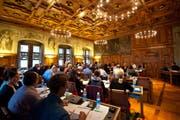 Blick ins Luzenrer Stadtparlament. (Bild: Maria Schmid/Neue LZ)