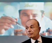 Dieter Weisskopf, CEO von Lindt & Sprüngli, steht unter Druck. (Bild: Walter Bieri/Keystone (Kilchberg, 6. März 2017))