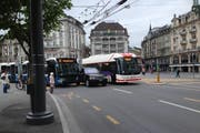... und Verspätungen im Busverkehr. (Bild: Leserbild)