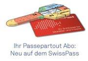 Das Passepartout Abo neu auch auf dem SwissPass. (Bild: PD)