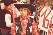 Marcel Schwerzmann verkleidete sich in früheren Jahren als Cowboy. (Bild: pd)