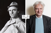 Emil Steinberger: Damals und heute (Bilder: Stadtarchiv/LZ Archiv)