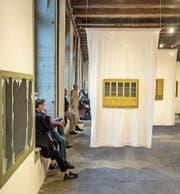 Einsicht in die Ausstellung mit Bildern von Hans Bucher in der Kornschütte Luzern. (Bild: PD)