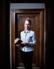 Olivia Bühlmann übernimmt auch in der Bürgerkanzlei Verantwortung. (Bild: Stefan Kaiser (Baar, 6. Februar 2018))