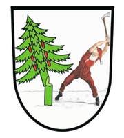 Die Neuinterpretation: Der Grafiker Angelo Gwerder hat das Walchwiler Wappen humorvoll uminterpretiert und schreibt dazu: «Ein fleissiger Weihnachtsmann stimmt sich auf die Festtage ein.» (Bild: Grafik: Angelo Gwerder)