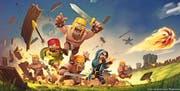 Apps wie Clash of Clan (siehe Bild) und das Puzzle-Spiel Candy Crush sorgen besonders für rekordhohe Umsätze für die Spielindustrie. (Bild: PD)