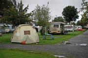 Der TCS-Camping bei der Seefeldstrasse in Horw steht vor einer ungewissen Zukunft. (Bild Nadia Schärli)