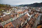 Blick auf das Städtchen Willisau. (Bild Philipp Schmidli)
