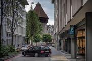 Die Parkhäuser in der Stadt Luzern sollen aus Sicht des Stadtrates besser ausgelastet werden. (Bild: Pius Amrein (Luzern, 11. Juli 2016))