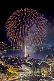 Könnte es bald nicht mehr geben: Feuerwerk am Luzerner Fest, hier in einer Aufnahme aus dem Jahr 2015. (Bild Pius Amrein)