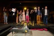 Der Kanton Luzern will die Kultur auf dem Land stärker fördern. Auf dem Bild: Die Theater Gruppe Schötz spielt das Stück «Die Frauen von Killing».