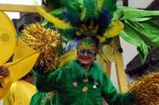 Samba am Umzug in Sarnen. (Bild: Adrian Venetz)