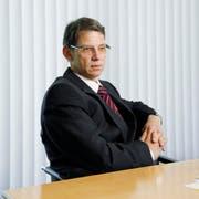 Blickt entspannt in die Zukunft: WWZ-CEO Andreas Widmer. (Archivbild Neue ZZ)