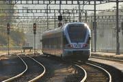 Bei Arth Goldau soll eine zusätzliche Haltestelle für die S-Bahn entstehen. (Bild: Leser Niklaus Rohrer)