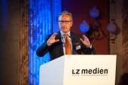 Jürg Weber verlässt ebenfalls den Verwaltungsrat der LZ Medien. (Bild: Archiv LZ)