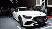 Kraftstrotzender Mercedes-AMG GT 53 als Weltpremiere. (Bild: KEY)