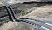 Der Künstler Clement Valla sammelt bei Google Earth verunglückte Modelle der Wirklichkeit, hier im US-Bundesstaat Washington. (Bild: Clement Valla)