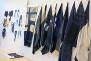Textilmuster und Kostümentwürfe. (Bild: PD Hochschule Luzern)