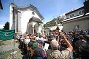 Die Talgemeinde entschied sich dagegen, die Traktandenliste abzuändern. (Bild: Urs Hanhart / Neue UZ)