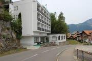 Das Hotel Löwen in Seelisberg wird als Unterkunft für Asylbewerber genutzt. (Archivbild Elias Bricker)