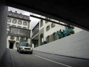 Das Parkhaus Schweizerhof wurde 2000 eröffnet. (Bild: LZ/Archiv)