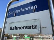 Während drei Wochen herrscht Bahnersatz-Verkehr. (Bild: sbb-medien.ch)