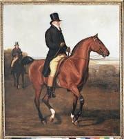 Eine der Facetten der Beziehung von Mensch und Tier: Das Statussymbol in «Lord Heathfield» von Jacques Laurent Agasse, 1814. (Bild: Kunstmuseum)