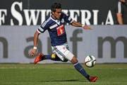Dario Lezcano, hier im Spiel gegen GC im April. (Bild: Philipp Schmidli / Neue LZ)