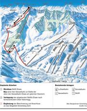 Ein Überblick über die geplanten Bauarbeiten. (Bild: Bergbahnen Sörenberg/mlu)