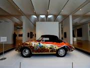 Der 1965er Porsche 356 C Cabriolet von Janis Joplin soll 400'000 Dollar bringen (Archiv) (Bild: /AP/GERRY BROOME)