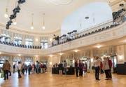 Nach der umfassenden Sanierung wurde das Theater Casino Zug im September neu eröffnet. (Bild: Patrick Hürlimann (Zug, 16. September 2017))