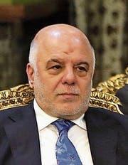 Der irakische Ministerpräsident Haidar al-Abadi. (Bild: EPA)