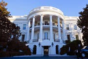 Aussenansicht des «White House» in Washington. (Bild: Keystone)