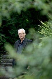 Er wehrt sich gegen seine Entlassung: Religionslehrer Thomas Bannwart, fotografiert diesen Sommer in Luzern. (Bild Pius Amrein)
