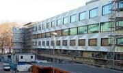 Wieviele Veloparkplätze gibt es bei der neuen Uni Luzern? (Bild Remo Nägeli/Neue LZ)