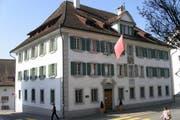 Das Gemeindehaus «Spittel» an der Herrengasse in Schwyz. (Bild: pd)