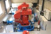 Die zwei neuen Maschinen des Kraftwerks Gurtnellen produzieren Strom für 7100 Haushalte. (Bild: zVg: Elektrizitätswerk Altdorf AG)