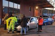 Auch in Schwyz kontrollierte die Polizei im November die Beleuchtung vieler Autofahrer. (Bild: Kantonspolizei Schwyz)