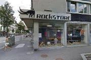 Der Bergsportausrüster Rockstore an der Hirschmattstrasse in Luzern. (Bild: Google Maps)